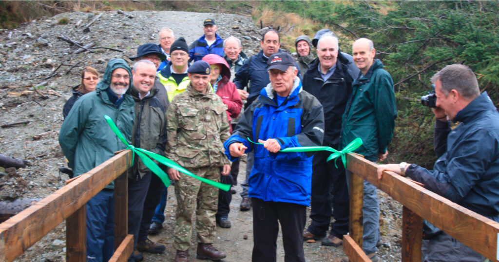 HADAT bridge opening © Helensburgh and District Access Trust