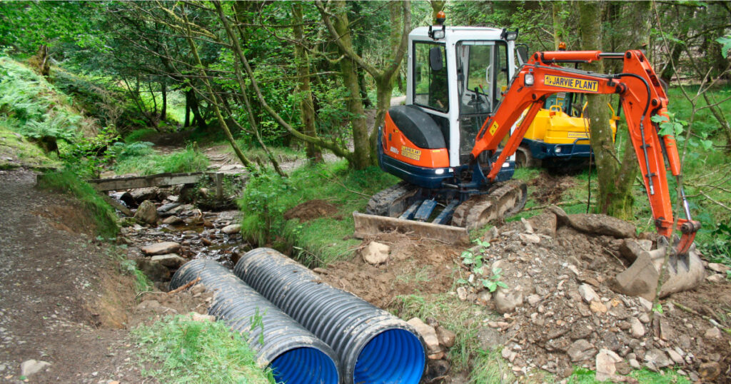 HADAT culvert installation © Helensburgh and District Access Trust