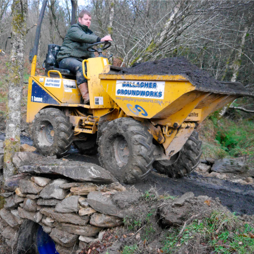 HADAT dumper truck © Helensburgh and District Access Trust