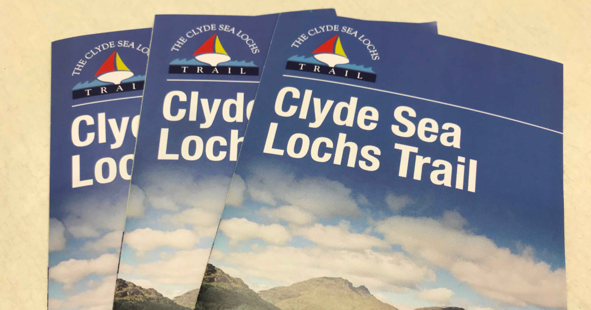 Clyde Sea Lochs Trail booklet © The Clyde Sea Lochs Trail