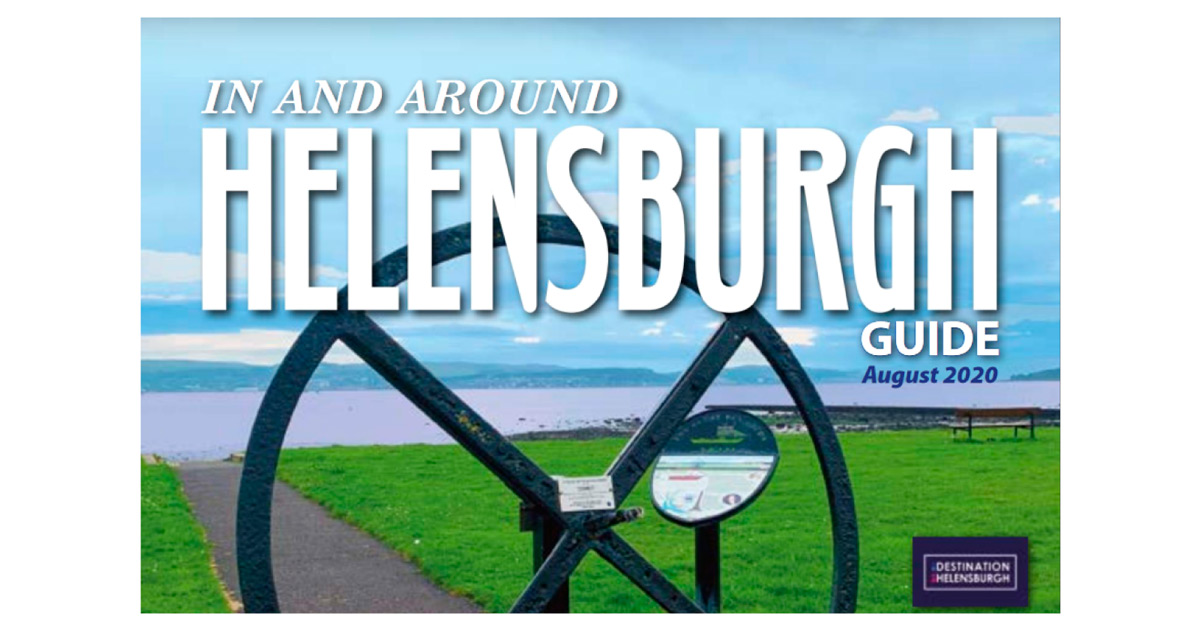 In and Around Helensburgh Guide cover, Downtown CityMaps & Guides