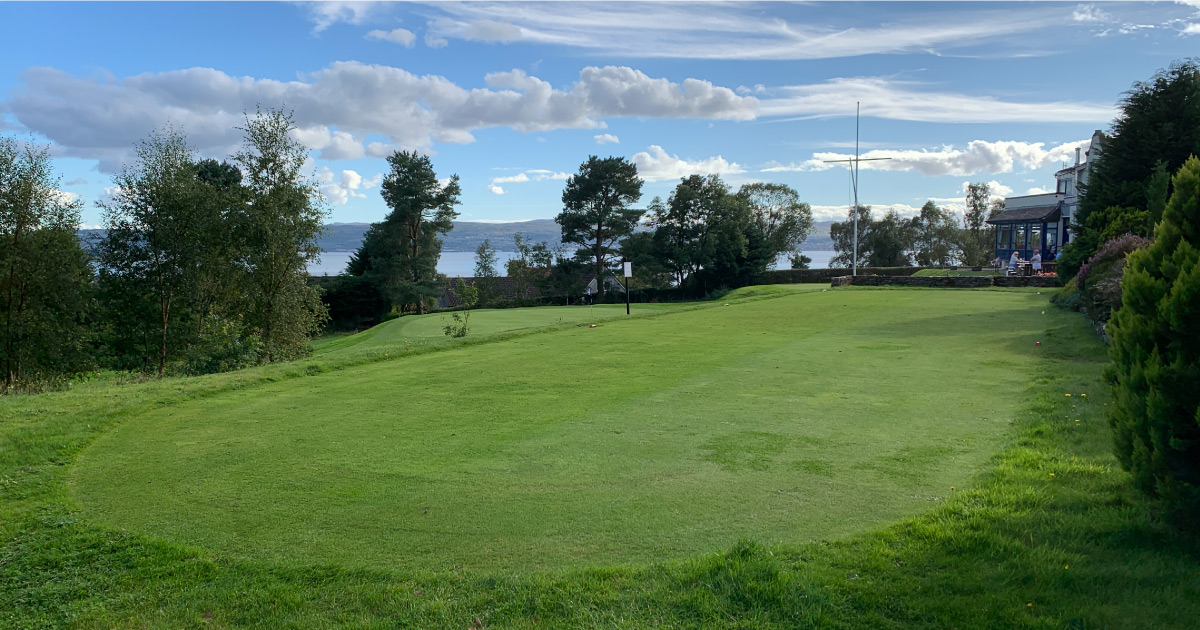 Helensburgh Golf Club. Image: AFoy