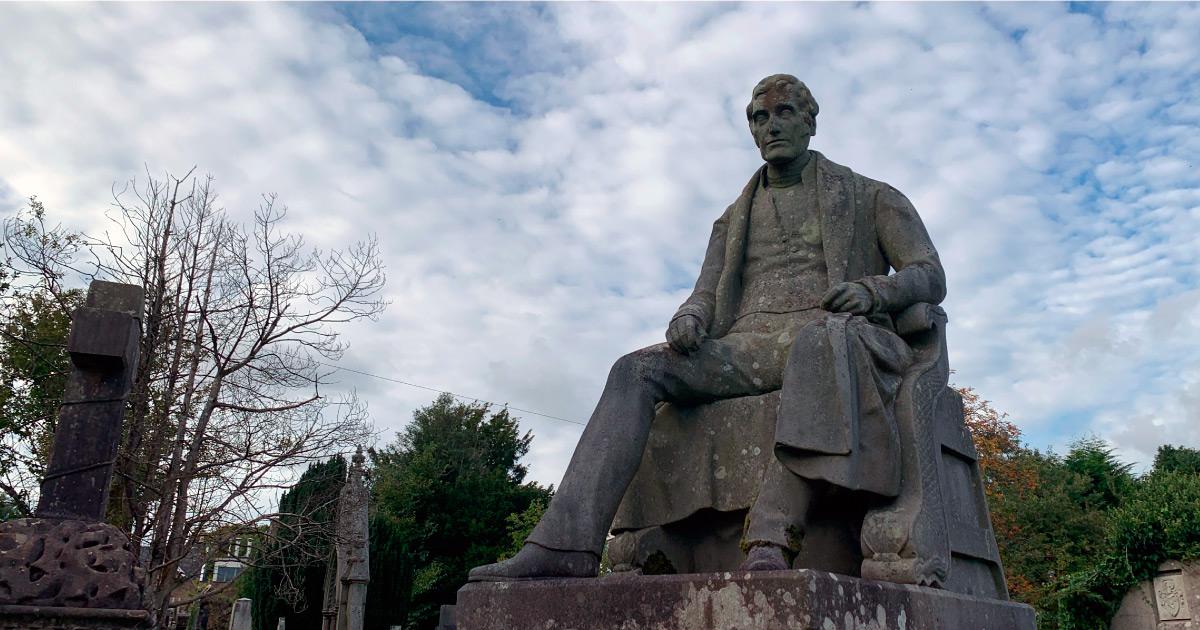 Henry Bell Statue. Image: AFoy