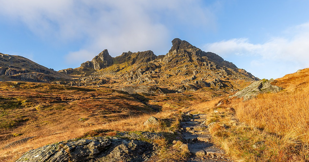 The Cobbler Image credit: Michal Klajban / CC BY-SA 4.0 https://commons.wikimedia.org/wiki/File:Ben_Arthur,_Arrochar_Alps,_Scotland_02.jpg