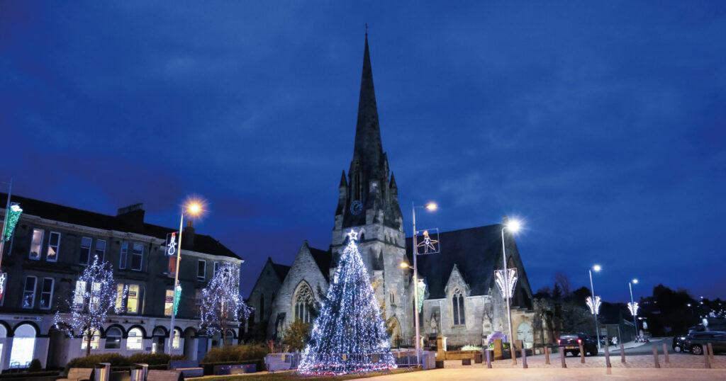 Christmas Lights Helensburgh Image credit A Foy