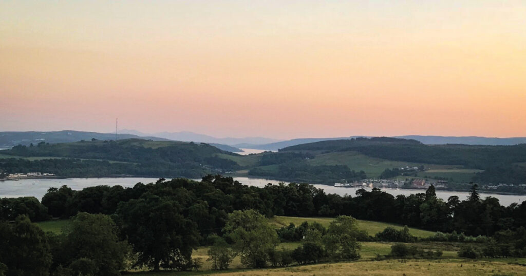 View from Highlandman's Road