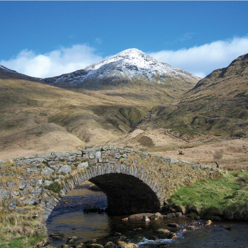 Beinn Ime from Butterbridge © Grinner, CC BY-SA 3.0 https://upload.wikimedia.org/wikipedia/commons/2/22/Beinn_ime_from_the_butterbridge.jpg