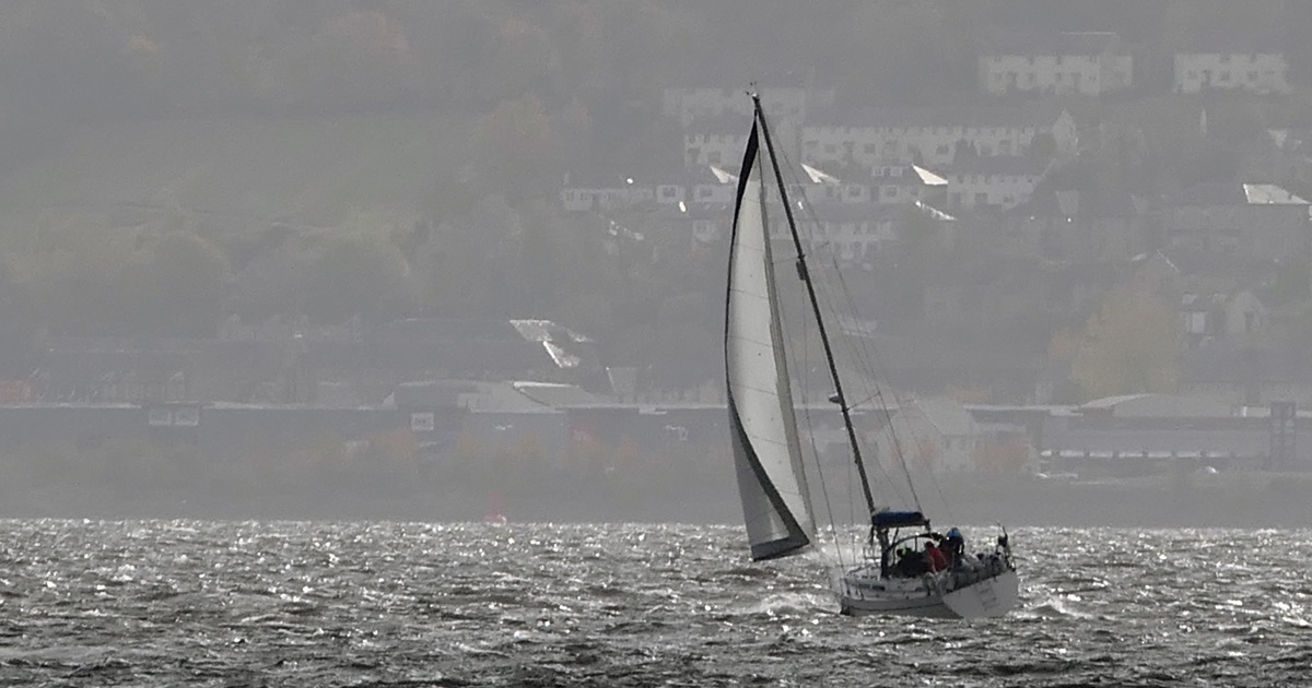 Sailing in the Clyde