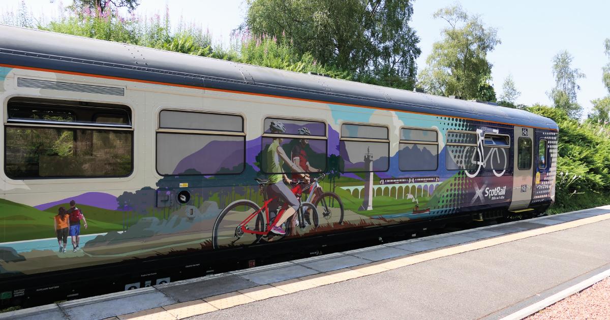 ScotRail Highland Explorer Train