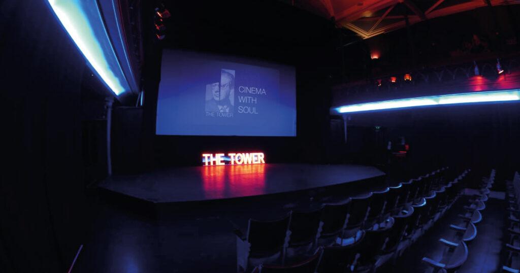 The Tower Digital Arts Centre main auditorium