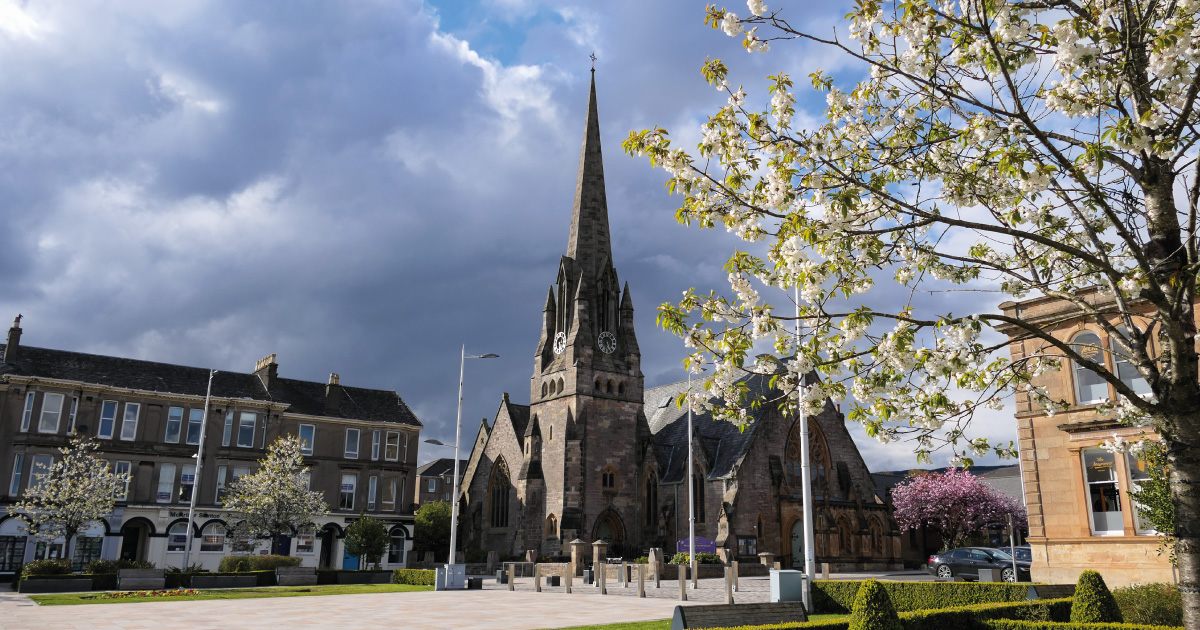 Colquhoun Square, Helensburgh, Image A Foy